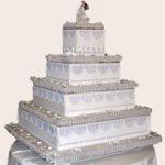 Torta Nuziale 5 Piani Monumentale Pasticceria Cucchietti Dronero